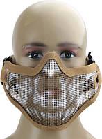 Защитная маска на лицо для страйкбола и пейтбола! Сетчатая маска!