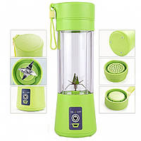 Фитнес-блендер Smart Juice Cup Fruits Портативный USB-зарядка  (S02420)