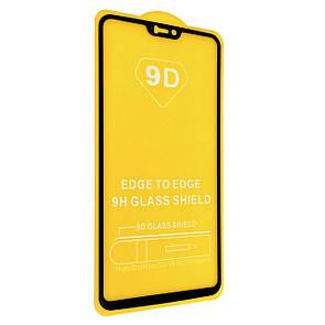 Защитное стекло DK Full Glue 9D для OnePlus 6 (black)