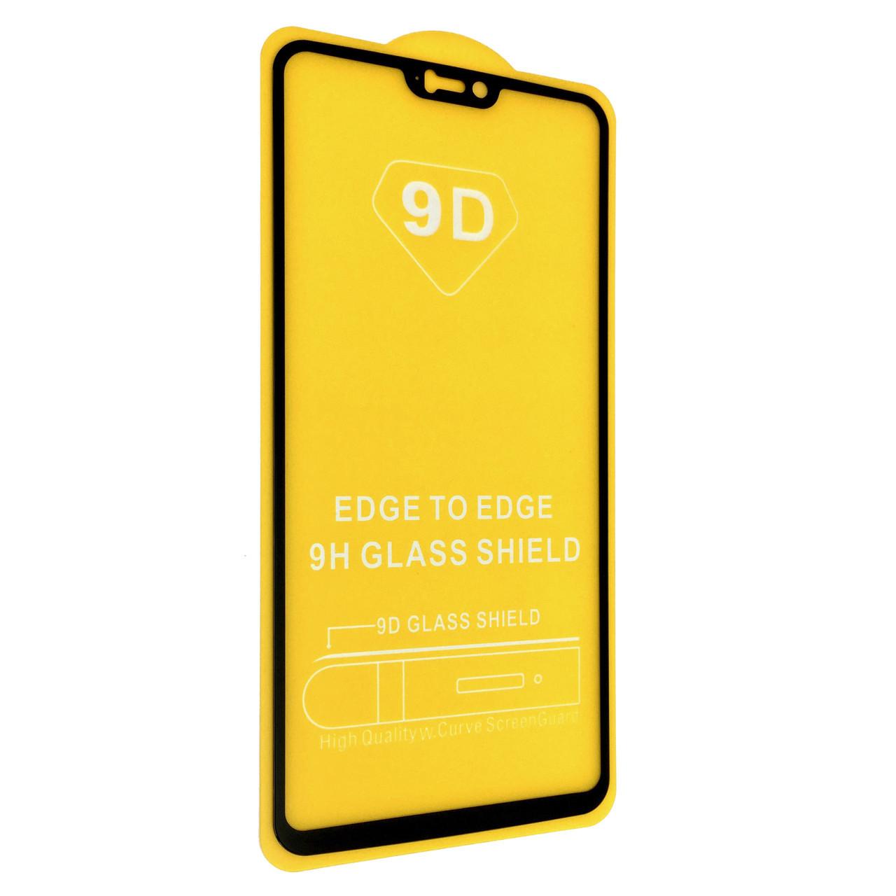 Защитное стекло DK Full Glue 9D OnePlus 6 (black)