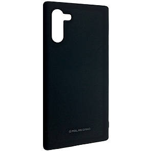 Чехол-накладка Silicone Hana Molan Cano для Samsung Note 10 (black)