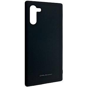 Чехол Silicone Hana Molan Cano Samsung Note 10 (black)