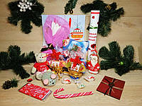 """Новогодний подарочный набор """"Happy Sweet New Year!""""  с именным поздравительным письмом"""
