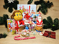 """Новогодний детский подарочный набор """"Happy monkey"""" с именным поздравительным письмом"""