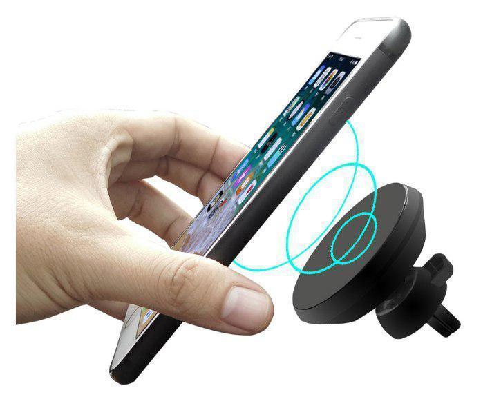 Автомобильное зарядное устройство DK Magnet Wireless Charger 10W (MWC02) (black)
