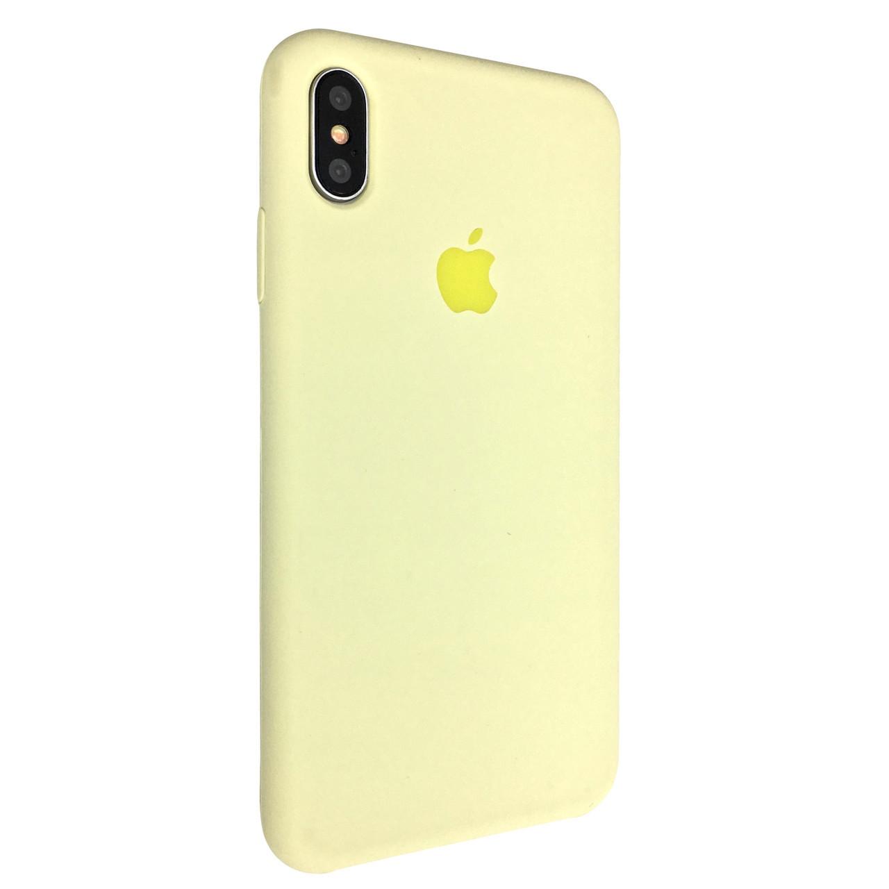 Чохол Silicone Case Apple iPhone XS Max (51)