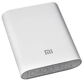 Power Bank Xiaomi портативная зарядка 10400mah + USB LED фонарик в подарок  (S02910)