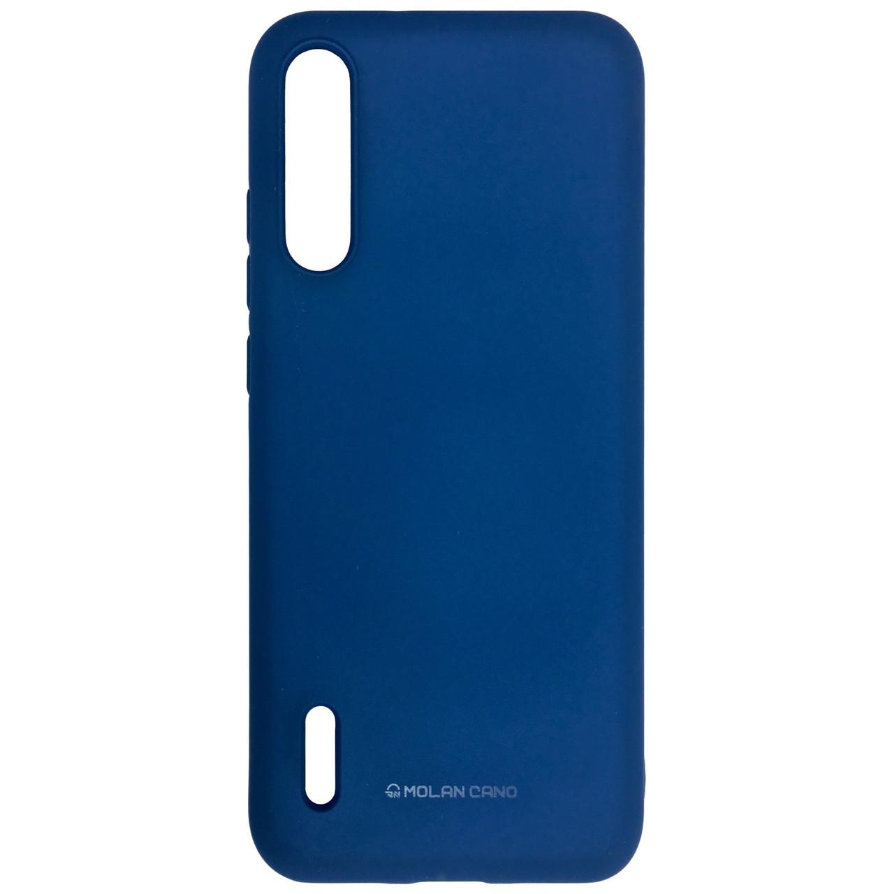 Чехол Silicone Hana Molan Cano Xiaomi Mi CC9 (blue)
