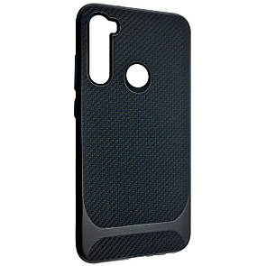 Чехол-накладка DK Silicone SGP Carbon для Xiaomi Redmi Note 8 (black)