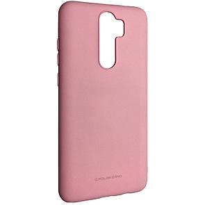 Чехол-накладка Silicone Hana Molan Cano для Xiaomi Redmi Note 8 Pro (pink)