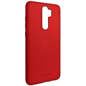 Чехол Silicone Hana Molan Cano Xiaomi Redmi Note 8 Pro (red)