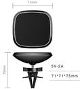 Автомобильное зарядное устройство DK Pin Wireless Magnet 10W (black), фото 3
