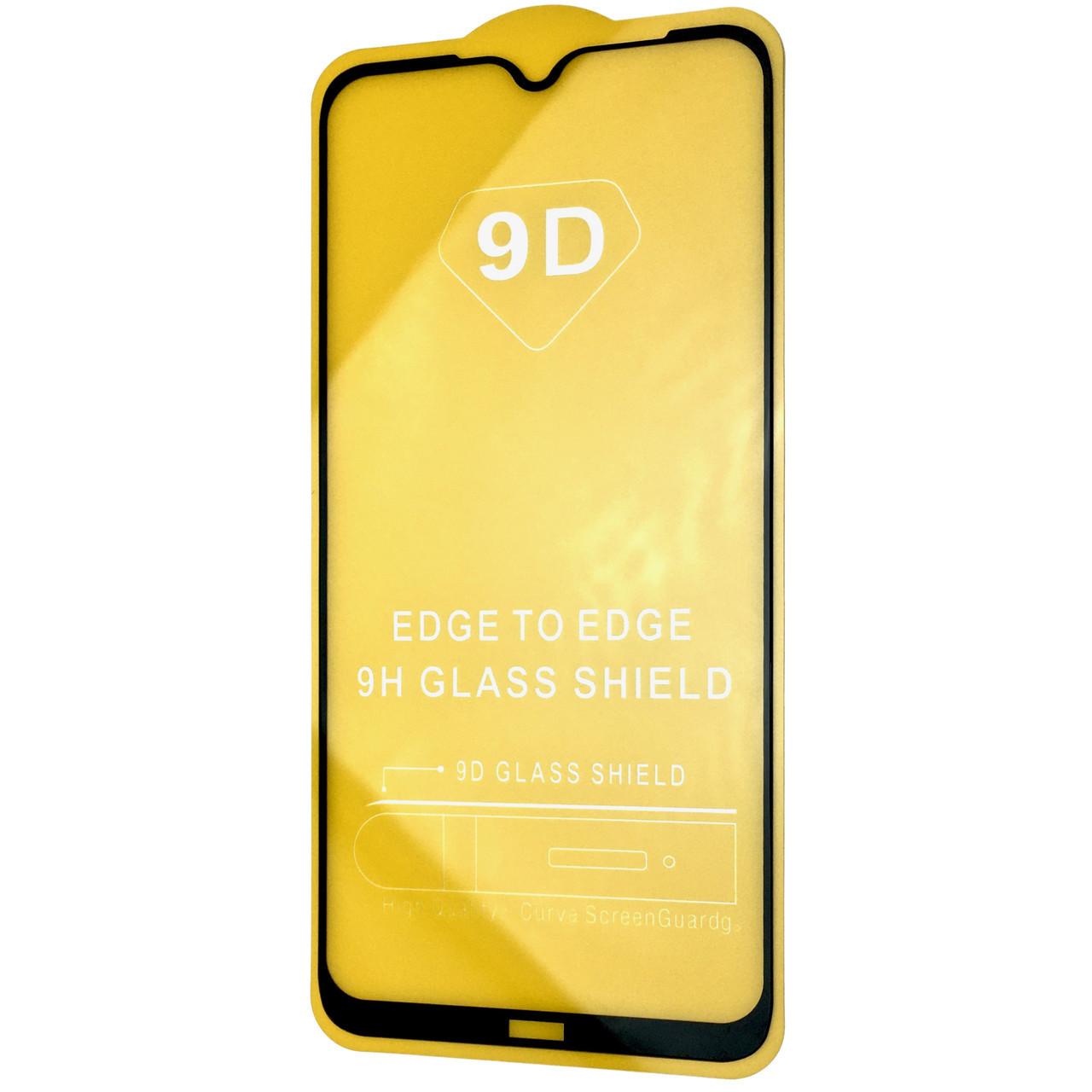 Защитное стекло DK Full Glue 9D Xiaomi Redmi Note 8 (black)