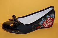 Подростковые туфли ТМ Эльф код 3197 размеры 33-38