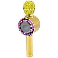 Беспроводной караоке-микрофон bluetooth WSTER WS-668 D1423  (S03344)