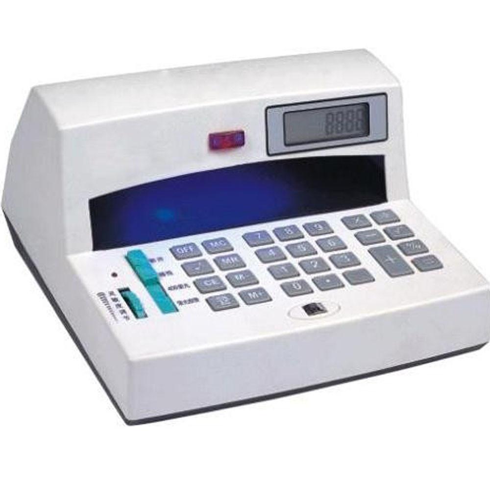 Ультрафиолетовый детектор валют с калькулятором Money Detector DST-69A  (S03488)