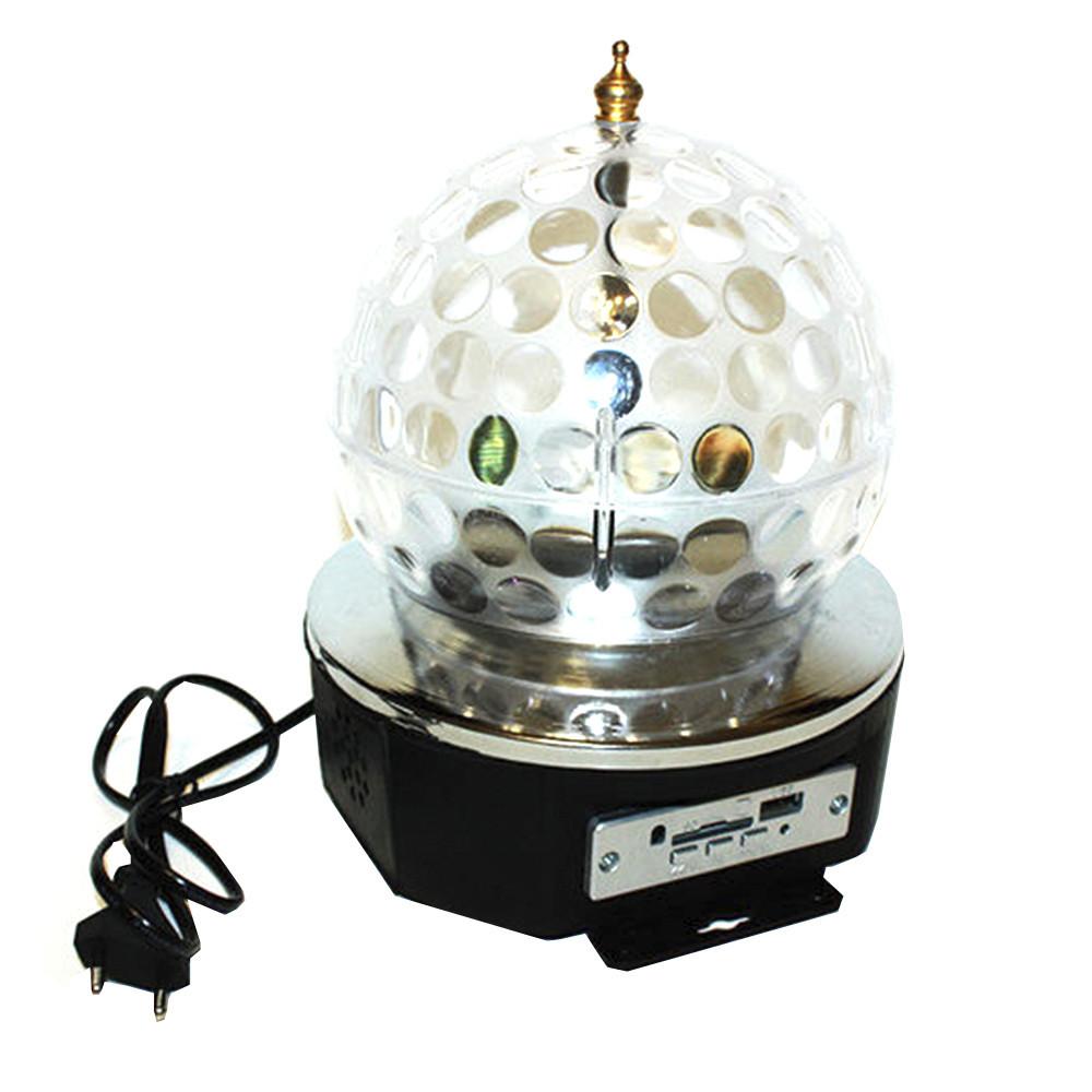 Светодиодный диско шар Discoshar 885 Bluetuth  (S03504)