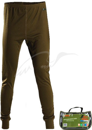 Кальсоны Snugpak 2nd Skinz Long Johns (Coolmax). Размер - M. Цвет - оливковый