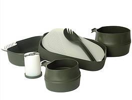 Милтек Швед. столовый набор (7 элементов) олива