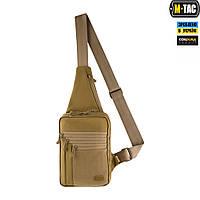 M-Tac сумка-кобура наплечная Elite Gen.IV с липучкой Coyote