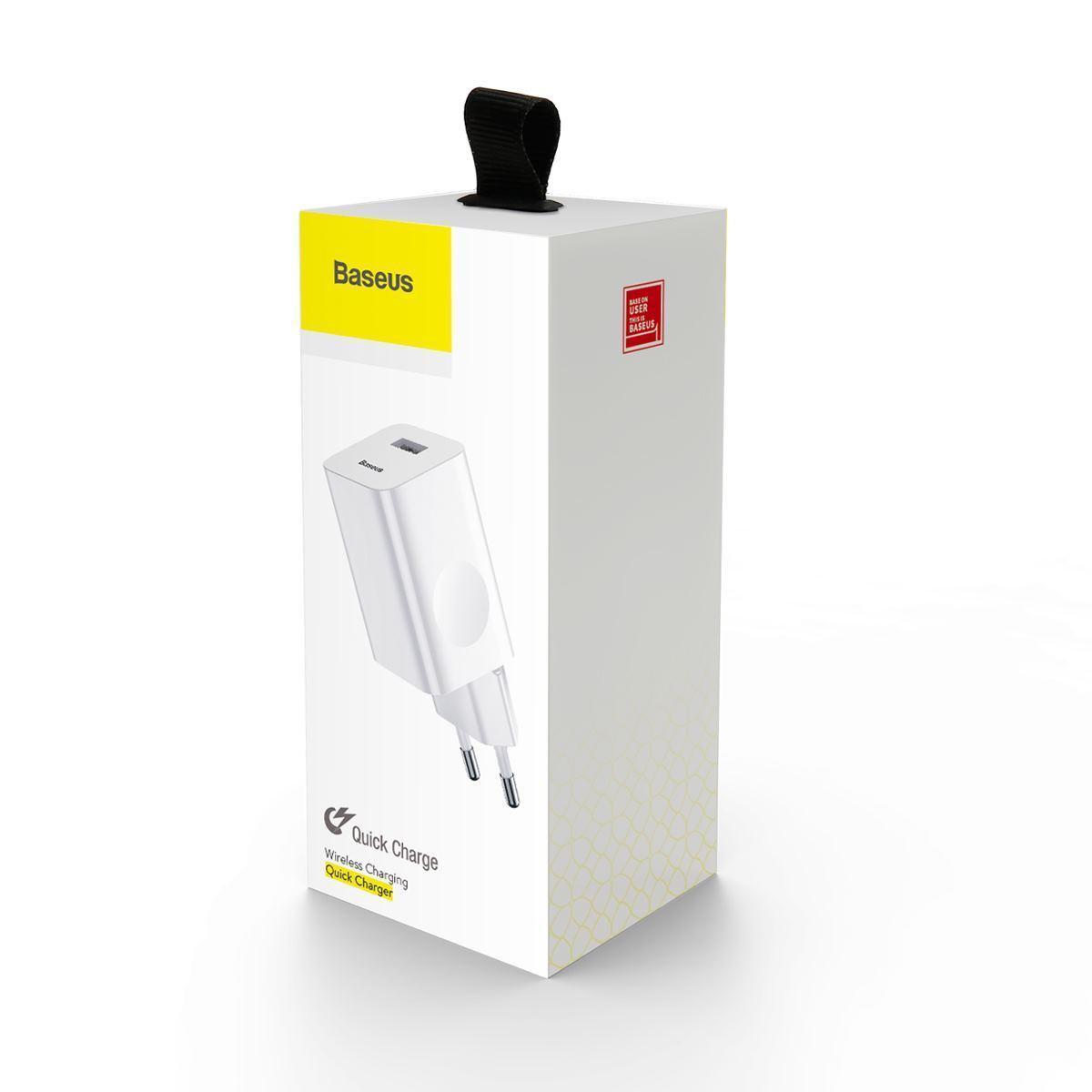 Зарядное устройство Baseus Charging Quick Charger 24W (white) (CCALL-BX02)