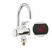 Электрический проточный водонагреватель с электронным табло №2  (S04138)