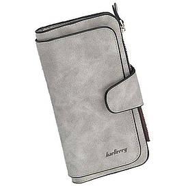 Кошелек Baellerry N2345 серый GREY D1017  (S04222)