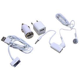 Универсальный адаптер 5 в 1 For iP 4S/4G/3GS/3G UNT-02  (S04270)