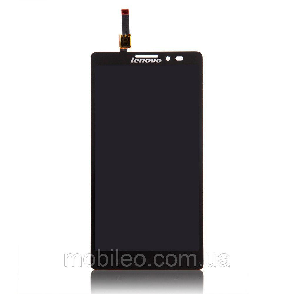 Дисплей для Lenovo K910 Vibe Z с тачскрином, чёрный, Original PRC