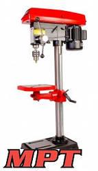 MPT  Сверлильный станок 20 мм, 750 Вт, 180-2770 об/мин, ход шпинделя 85 мм, медная обмотка, Арт.: MDP2003