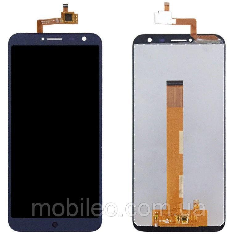 Дисплей (LCD) Oukitel C8 с тачскрином, синий