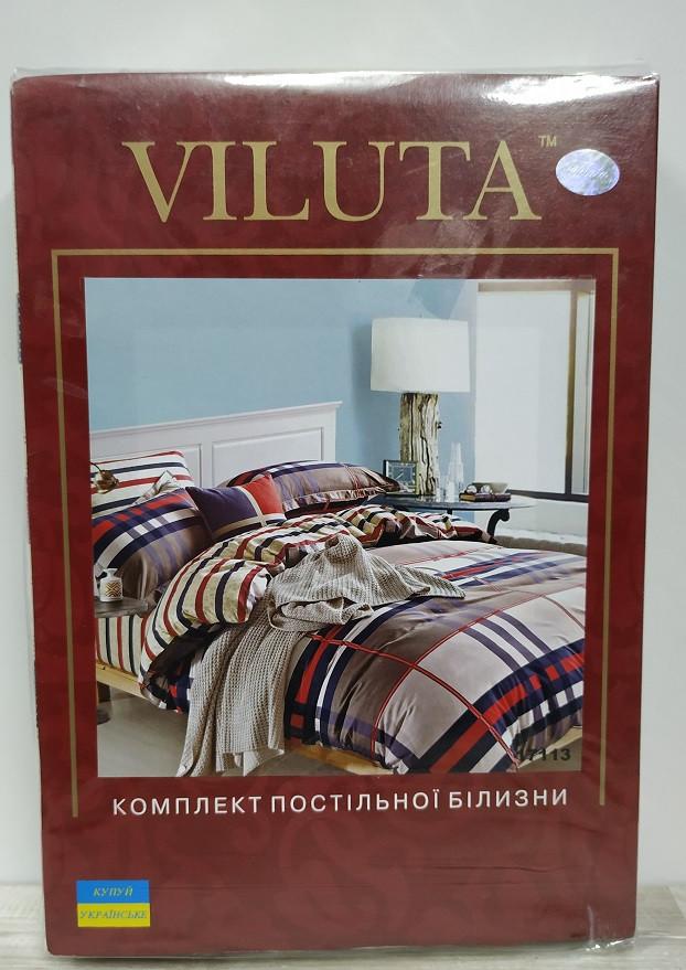 Комплект постельного белья ранфорс арт 17113 Viluta