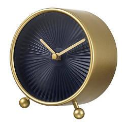 ИКЕА (IKEA) SNOFSA, 203.578.76, Настольные часы, желтая медь, 11 см - ТОП ПРОДАЖ