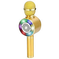 Беспроводной караоке-микрофон bluetooth WSTER WS-669  (S04440)