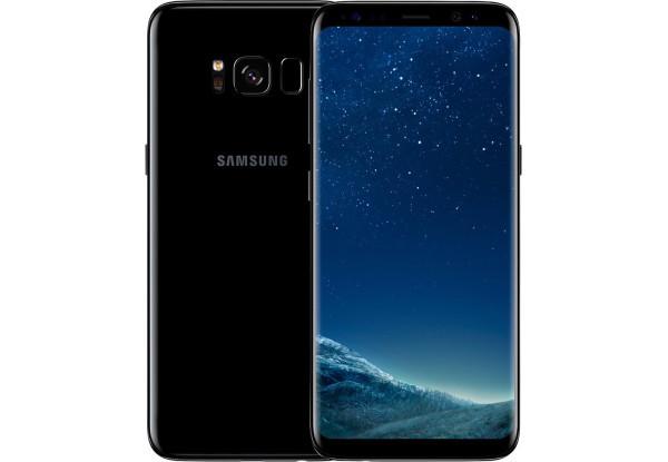 Смартфон Samsung SM-G950U Galaxy S8 4/64gb Black Qualcomm Snapdragon 835 3000 мАч