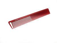 Расчёска для стрижки DenIS professional красная 8917