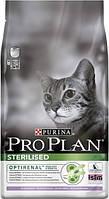 Pro Plan Sterilised с индейкой для кастрированных котов 10 кг
