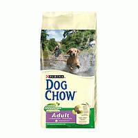 Dog Chow Adult для взрослых собак с ягненком 2.5 кг