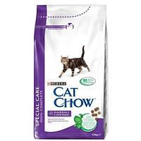 Корм Cat Chow для контроля образования комков шерсти 1.5 кг