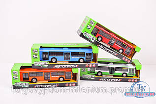 Автобус инерционный Автопром 9690ABCD