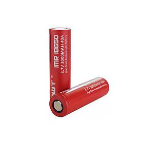 Аккумулятор для электронных сигарет Battery  IMR 18650 RED 3.7v 3000 mAh 40AАккумулятор для электронных  (S04557)
