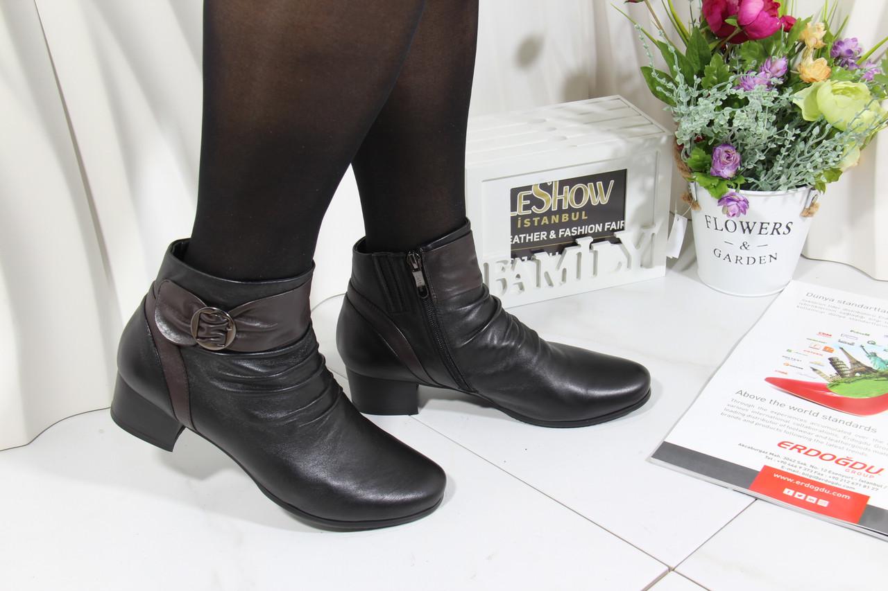 Ботинки демисезонные больших размеров Battine B478