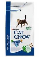 Корм Cat Chow Feline 3 в 1 для взрослых кошек 0.4 кг