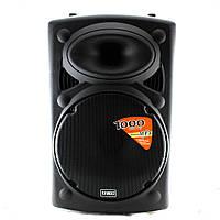 Портативная Bluetooth колонка UKC BT12A + 2 mic + BT 12v\220v  (S04630)