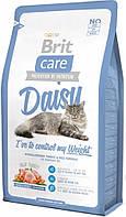 Корм Brit Care Cat Daisy I have to control my Weight для кошек с лишним весом, 0,4 кг