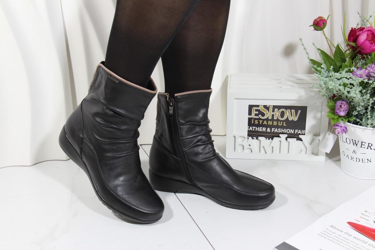 Чорні черевики осінні Battine B663