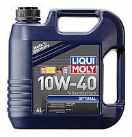 Масло моторное LIQUI MOLY 10w40 Optimal 4л