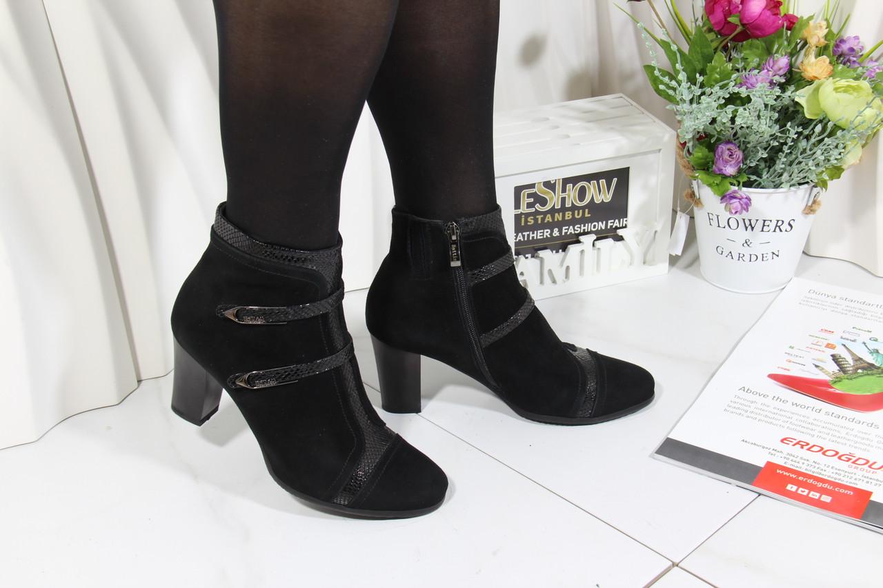 Замшеві черевики Battine B470