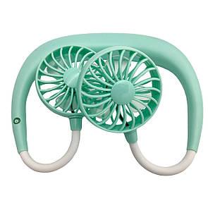 Вентилятор DK Neck Double Cooler 1.2W (mint)