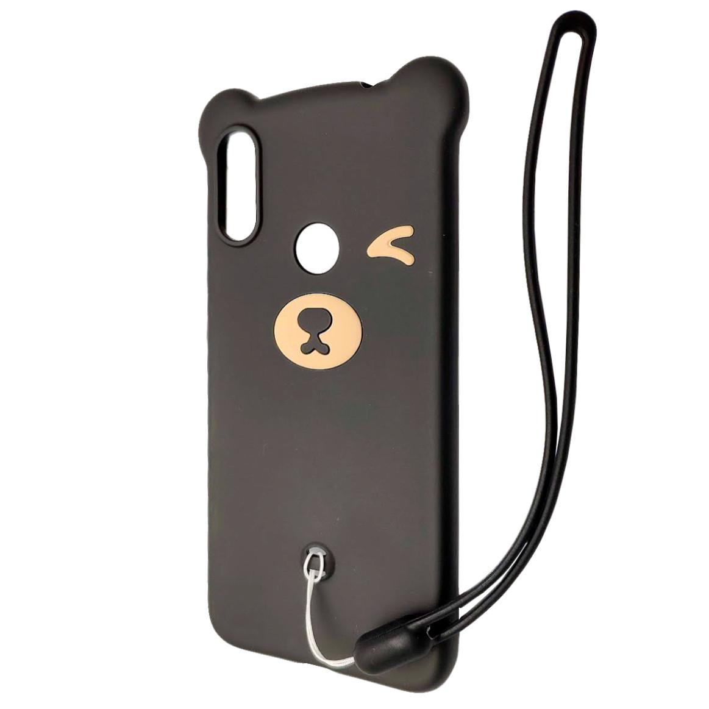 Чохол DK Silicone Winking Bear Xiaomi Redmi Note 7 Pro (01)